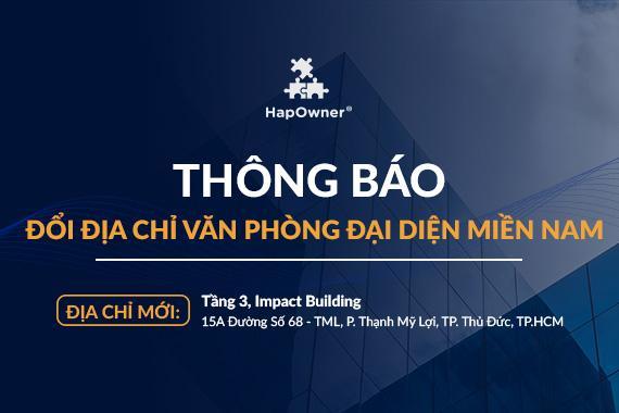 Thủ Quán Việt Nam chuyển địa chỉ văn phòng đại diện miền Nam