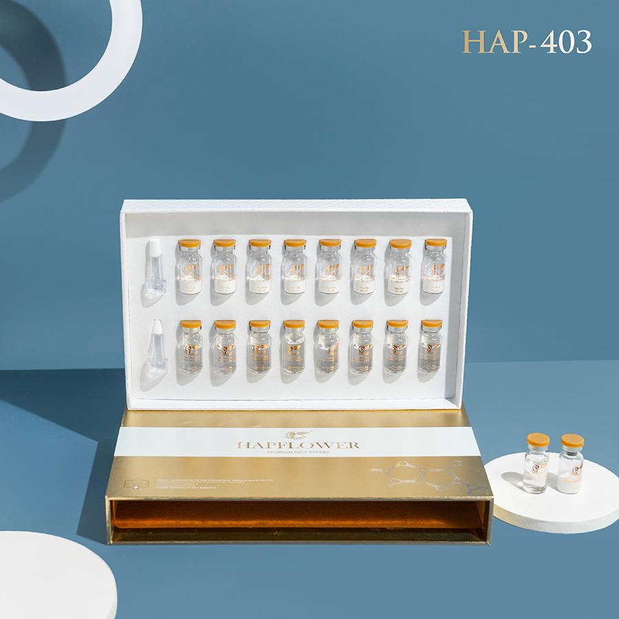 HAP-403: Bộ sản phẩm bột đông cô trị nhăn chống lão hóa