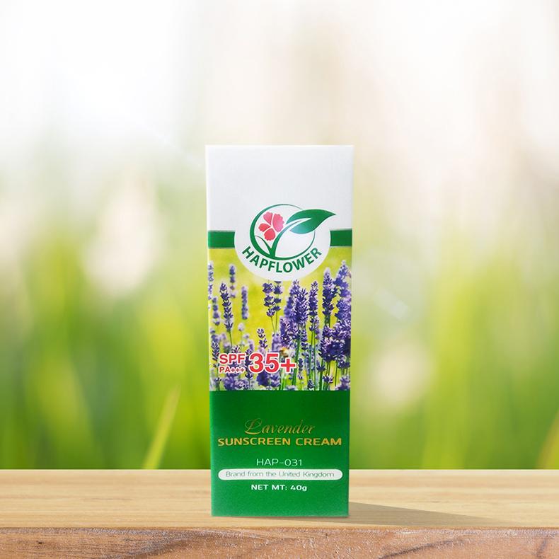 HAP-031: Kem chống nắng hoa Oải hương
